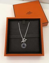 HERMES Unisex Handmade Silver Necklaces & Chokers