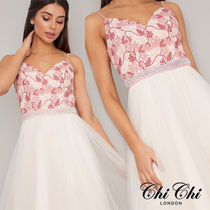 Chi Chi London Plain With Jewels Party
