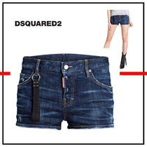 D SQUARED2 Short Denim Denim & Cotton Shorts