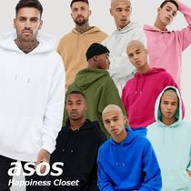 ASOS Pullovers Sweat Street Style Long Sleeves Plain Hoodies