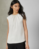 TED BAKER Casual Style Plain Shirts & Blouses