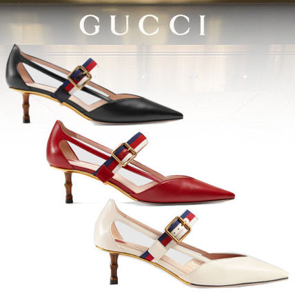 be41a1fb6 GUCCI Kitten Heel Leather pump 17 GUCCI Kitten Heel Leather pump ...