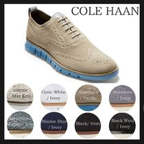 Cole Haan ZEROGRAND Wing Tip Plain Oxfords
