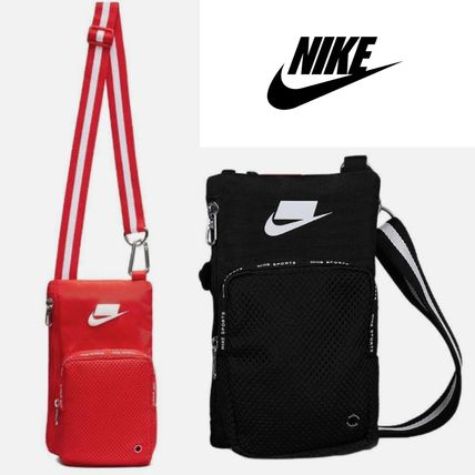 681d0e68e3 ... Nike Messenger   Shoulder Bags Unisex Nylon Street Style Plain Messenger    Shoulder ...