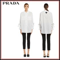 PRADA Long Sleeves Shirts & Blouses