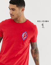 Religion Street Style Short Sleeves T-Shirts