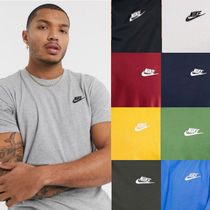 Nike Street Style Logo T-Shirt Activewear Tops