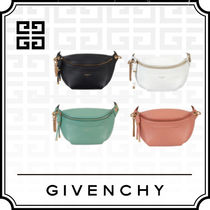 GIVENCHY 3WAY Plain Leather Shoulder Bags