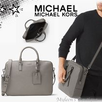 Michael Kors BRYANT A4 Plain Leather Business & Briefcases