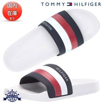 Tommy Hilfiger Stripes Unisex Plain Shower Shoes Shower Sandals