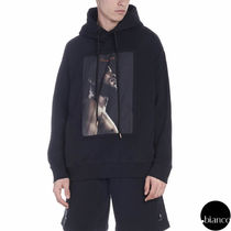 Marcelo Burlon Unisex Sweat Street Style Long Sleeves Hoodies