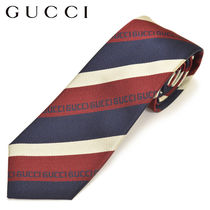 GUCCI Stripes Silk Ties