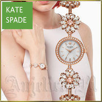 kate spade new york Round Quartz Watches Stainless Elegant Style Analog Watches