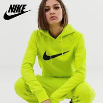 Nike Short Street Style Long Sleeves Cotton Cropped