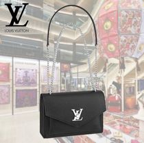 Louis Vuitton LOCKME Casual Style 2WAY Leather Shoulder Bags