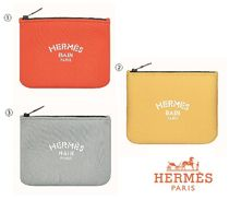 HERMES Yachting Pouches & Cosmetic Bags