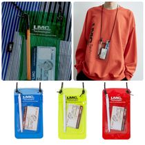 Unisex Street Style PVC Clothing Bags