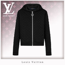 Louis Vuitton Monogram Unisex Long Sleeves Cotton Hoodies & Sweatshirts