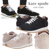 kate spade new york Casual Style Plain Leather Low-Top Sneakers