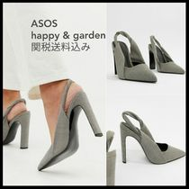 ASOS Other Check Patterns Pin Heels Pointed Toe Pumps & Mules