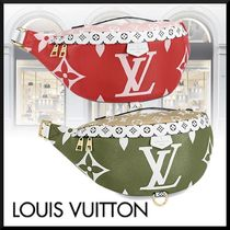 Louis Vuitton BUMBAG Monogram Casual Style Blended Fabrics Street Style Leather