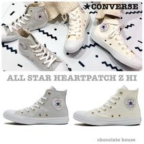 CONVERSE ALL STAR Star Casual Style Plain Low-Top Sneakers