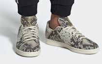 adidas STAN SMITH Other Animal Patterns Leather Low-Top Sneakers