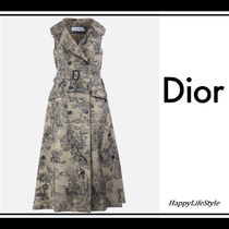 Christian Dior Blended Fabrics Other Animal Patterns Medium Elegant Style