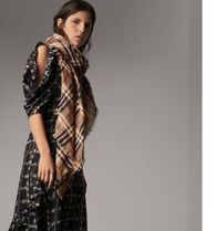 Burberry Other Check Patterns Lightweight Scarves & Shawls
