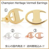 CHAMPION Unisex Street Style Collaboration Plain Earrings