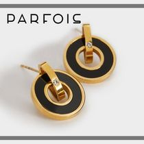 PARFOIS Costume Jewelry Elegant Style Earrings & Piercings
