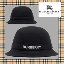 Burberry Street Style Bucket Hats Wide-brimmed Hats