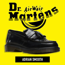 Dr Martens Street Style Plain Leather Loafer Pumps & Mules