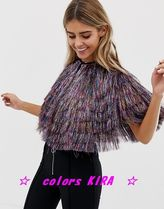 ASOS Fringes Ponchos & Capes