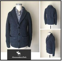 Abercrombie & Fitch Low Gauge Plain Vests & Gillets