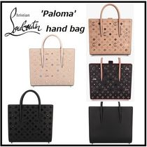 Christian Louboutin Paloma Leather Elegant Style Handbags