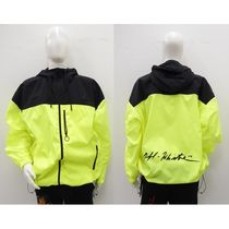 Off-White Street Style Bi-color Jackets