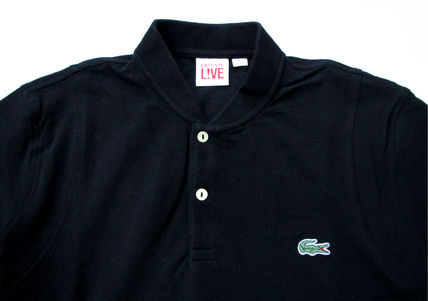 LACOSTE Polos Pullovers Stripes Cotton Short Sleeves Polos 3