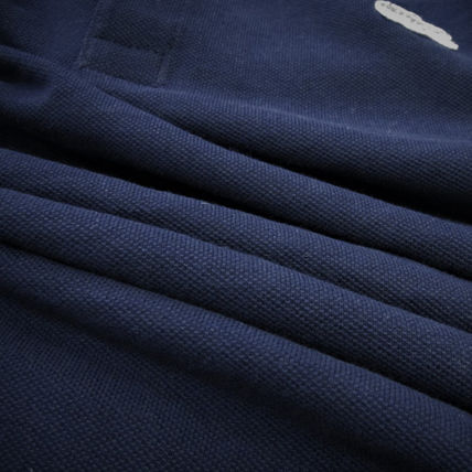LACOSTE Polos Pullovers Stripes Cotton Short Sleeves Polos 8