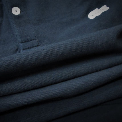 LACOSTE Polos Pullovers Stripes Cotton Short Sleeves Polos 15