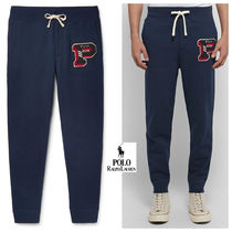 POLO RALPH LAUREN Tapered Pants Cotton Tapered Pants