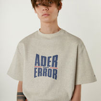 ADERERROR Street Style Cotton Short Sleeves T-Shirts
