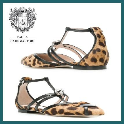 Leopard Patterns Elegant Style Shoes