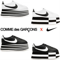 COMME des GARCONS Platform Street Style Collaboration Party Style