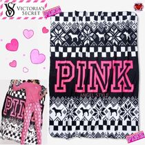 Victoria's secret PINK Stripes Geometric Patterns Throws