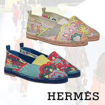 HERMES Casual Style Flats