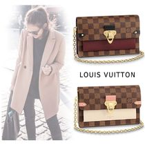 Louis Vuitton 2019SS  PORTFOLIO VAVAN CHAIN 2colors one size Long Wallets
