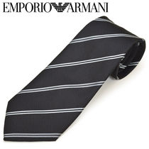 EMPORIO ARMANI Stripes Silk Ties