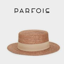 PARFOIS Straw Boaters Straw Hats