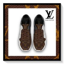 Louis Vuitton Monogram Blended Fabrics Bi-color Leather Sneakers